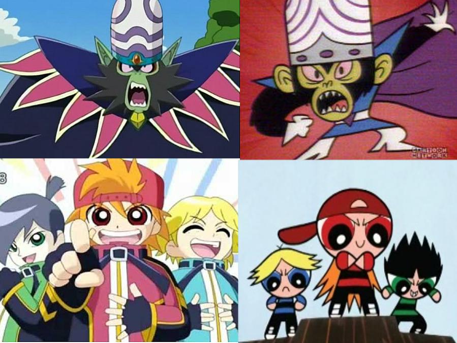 z Powerpuff anime girls