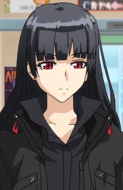 scissors with Anime girl