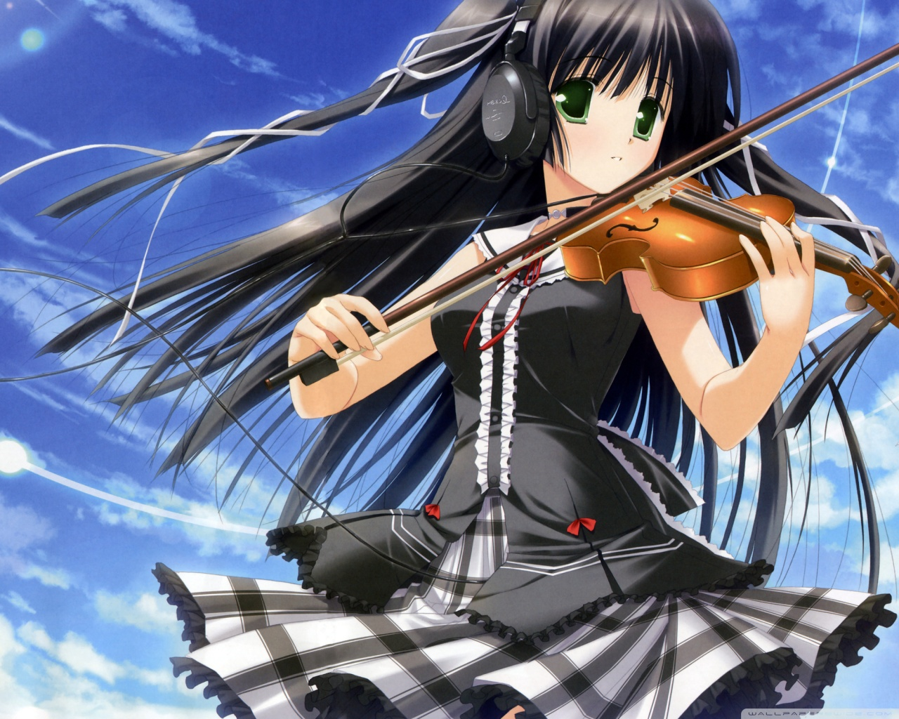 girl playing with herself Anime