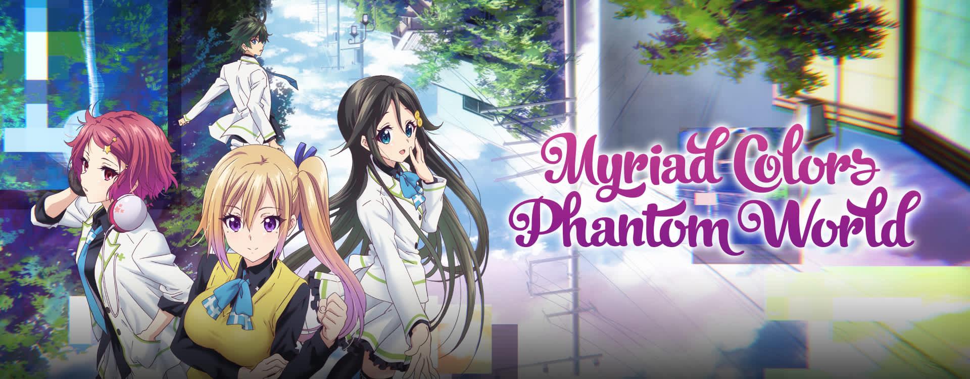 colors world phantom myriad Anime